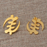 Adinkra Gye Nyame Earrings
