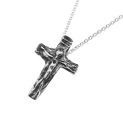 Silver cross crucifix medieval times Iceland