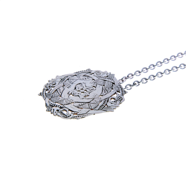 Silver Viking Necklaces No 17