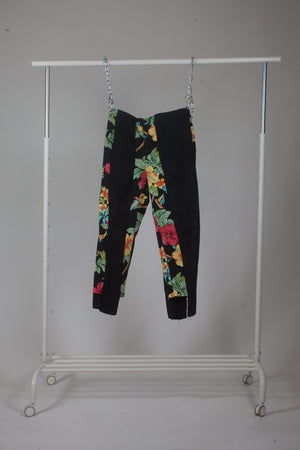FFF Slacks (flower and black)