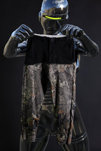 split crotch trouser bottom camo