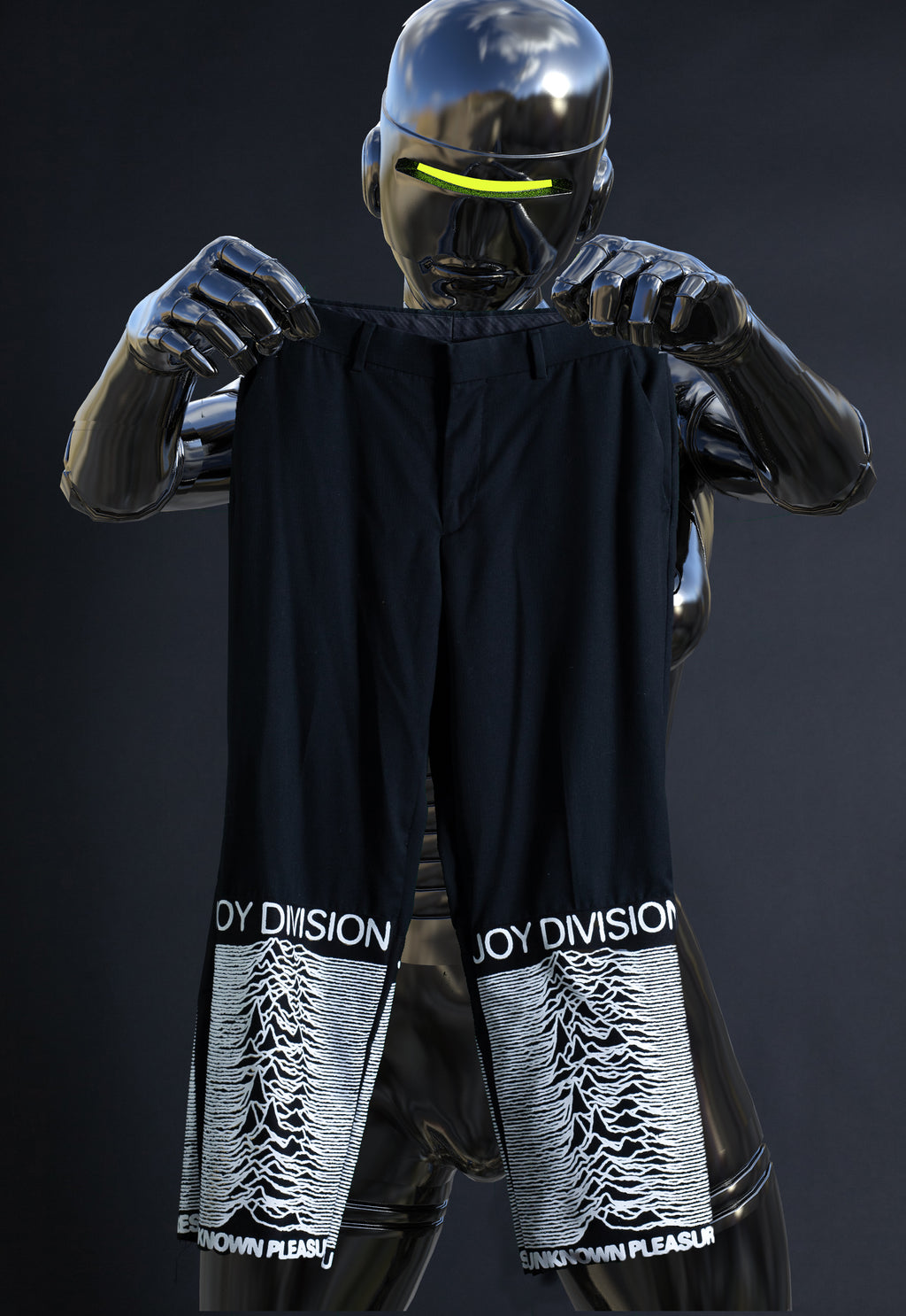 joy division cropped trousers