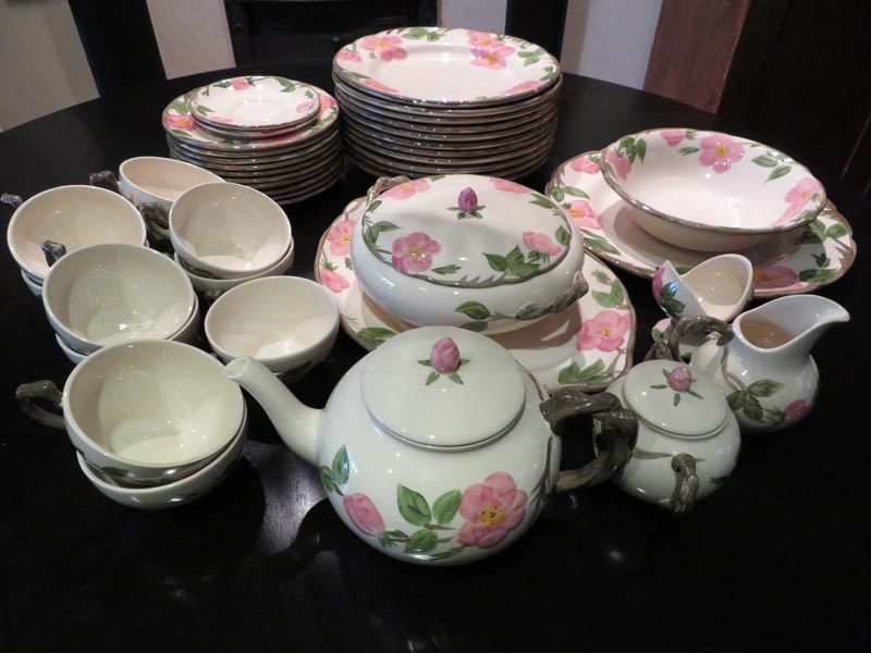 Franciscan Desert Rose dinnerware set (42 pieces) Decorative dish - farrago.ca ... & Franciscan Desert Rose dinnerware set (42 pieces) u2013 farrago.ca