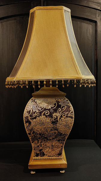 Pair Asian Flask Style Lamps