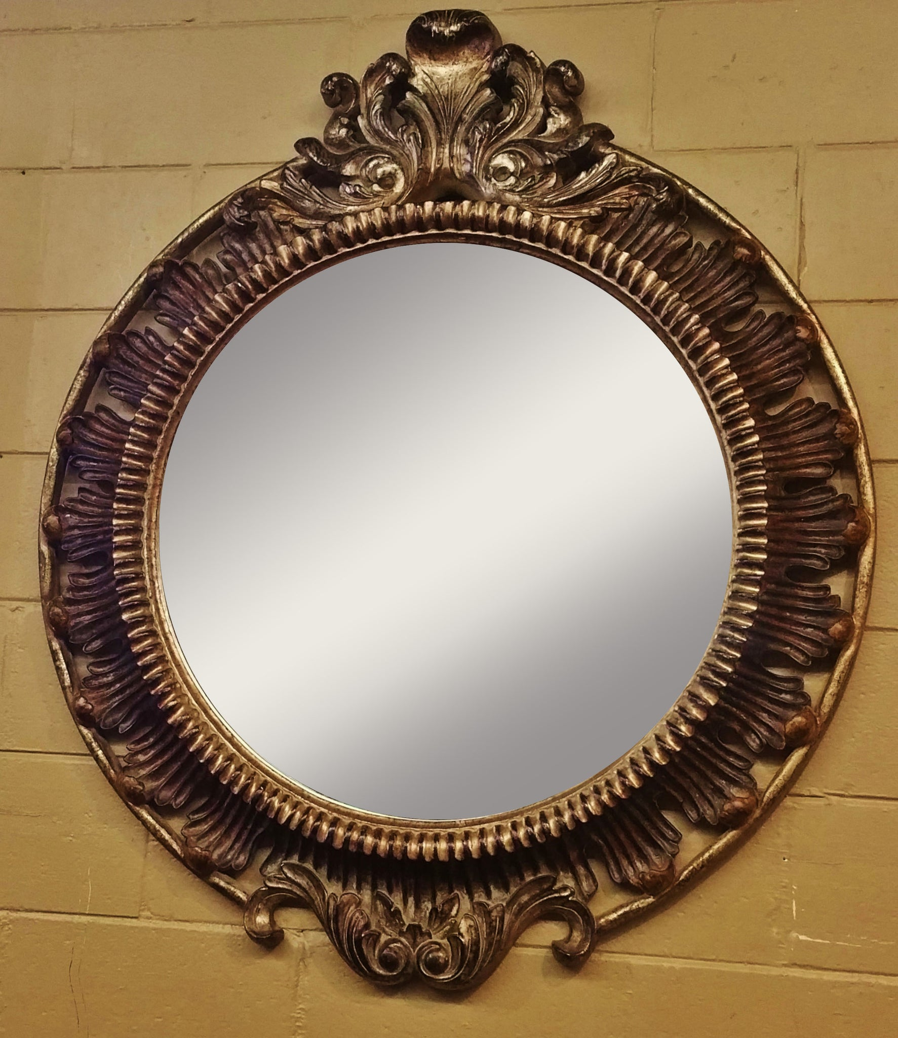 Uttermost Ornate Victorian Mirror