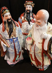 Porcelain Figurines Wise Men Gods