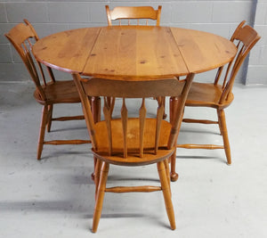 Vintage 7-pc Dinette by S. Bent & Bros. Furniture