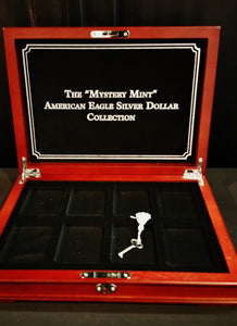 American Eagle Silver Dollar Collection Coin Box