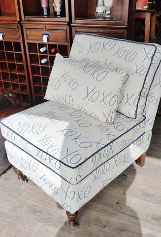 "Slipper Chair ""Trixie"" Trisha Yearwood Collection"