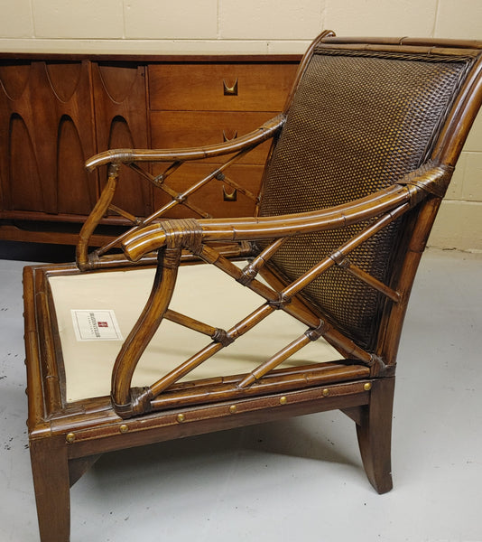 Wicker Rattan Armchair