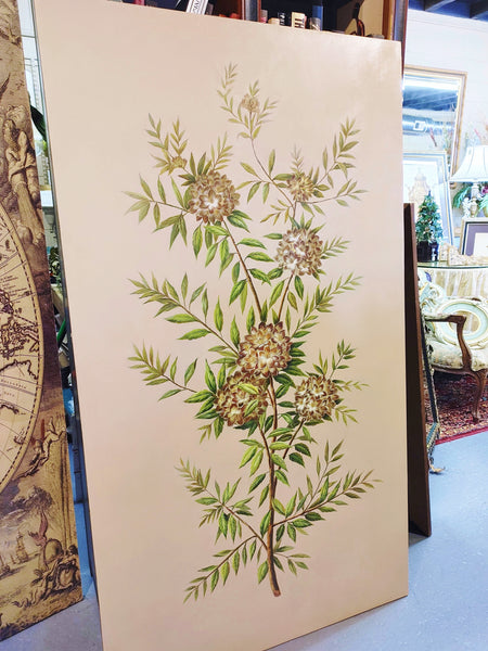 Floral Botanical Art Wall Panel Chelsea House