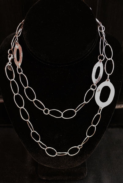 Sterling Long Loops Chain Silpada 32""