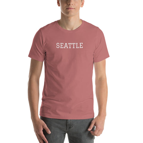 SEATTLE Short-Sleeve Mens T-Shirt