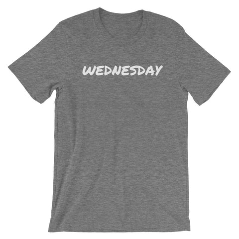 WEDNESDAY Short-Sleeve Unisex T-Shirt