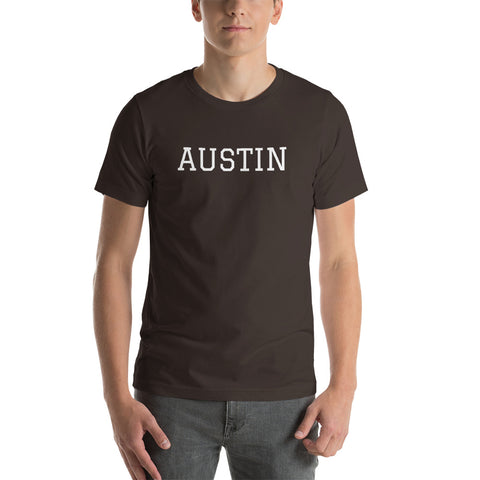 AUSTIN Short-Sleeve Unisex T-Shirt