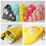 4pcs Waterproof Travel Storage Bags