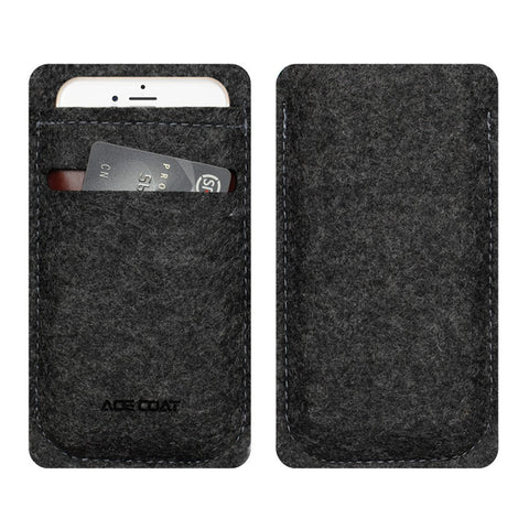 Felt iPhone Card Case