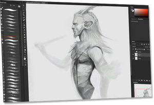 Faun Herald - Digital Art Video
