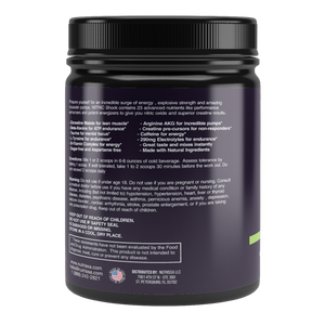 Nutrissa® Nitric Shock Pre-Workout