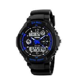 Digital Led Sport Wristwatches Water Resistant 6 Colors