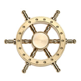 Circle Old Captain Rudder Fidget Spinner 2 Colours