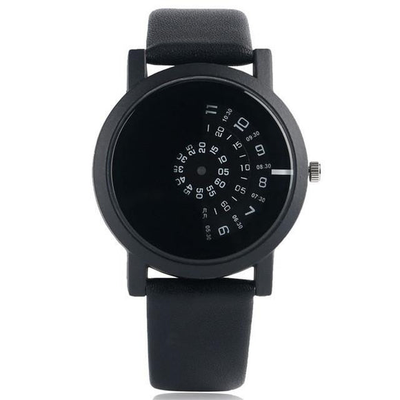 Fashion Black & White Watch Interesting Style 3 Colors