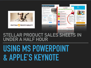 Video Tutorial: How to Design a Stellar Sales Sheet, Without Being a Designer