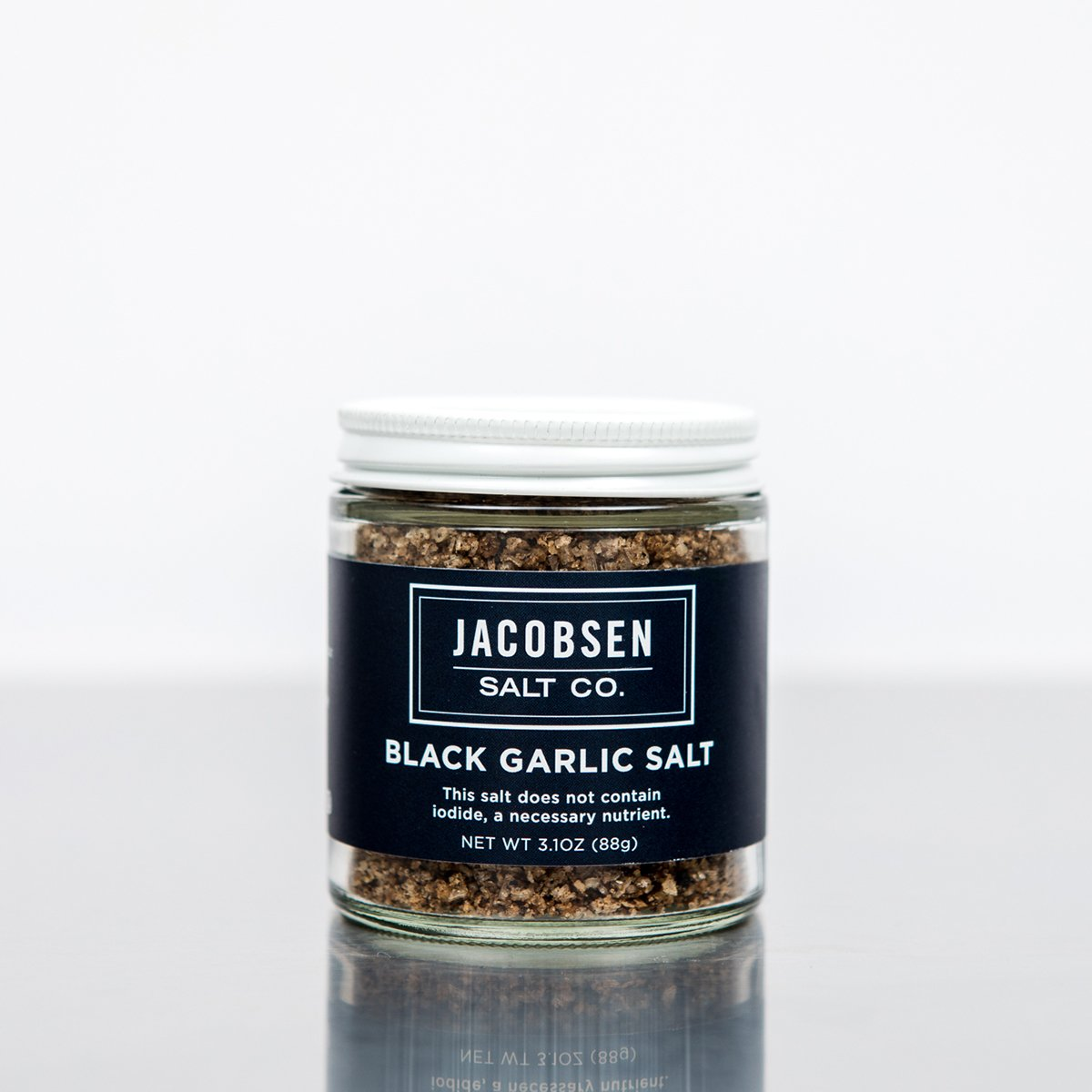 Jacobsen Black Garlic Infused Sea Salt - Ettiene Market