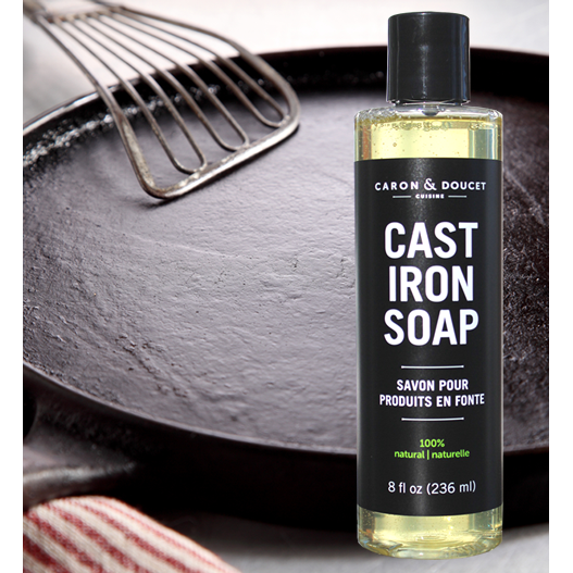 Cast Iron Soap, 8 oz. - Ettiene Market