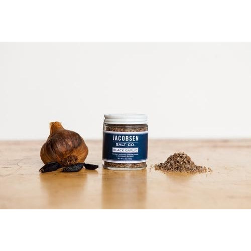 Jacobsen Salt Infused Black Garlic Sea Salt