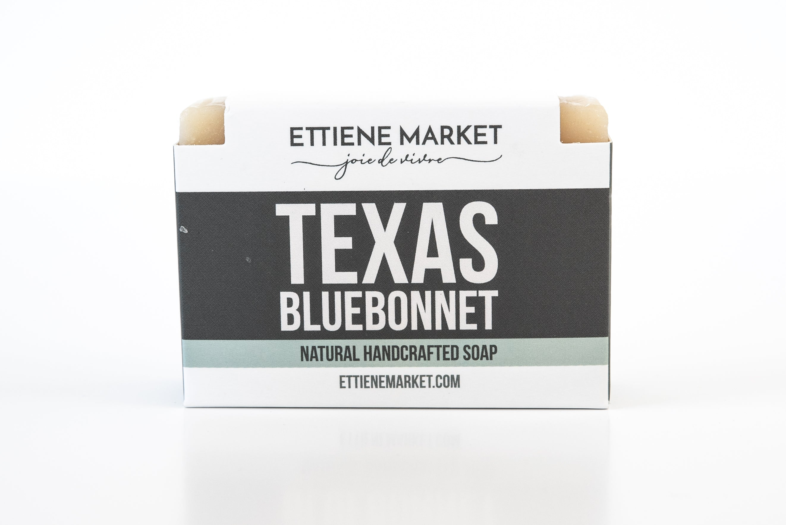Ettiene Market Goat's Milk Soap Bar - Texas Bluebonnet