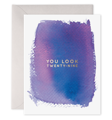E. Frances Card - You Look 29 - Ettiene Market