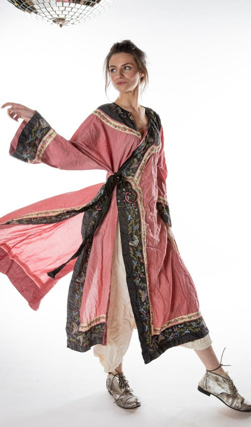 Magnolia Pearl, Miggy Oriental Coat 392- Faded Beet