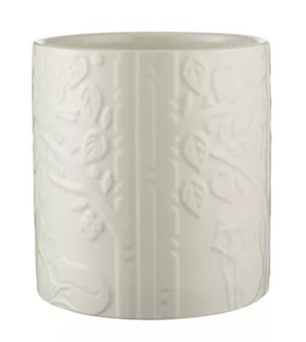 Mason Cash In The Forest Utensil Jar - Cream, 90 oz. - Ettiene Market