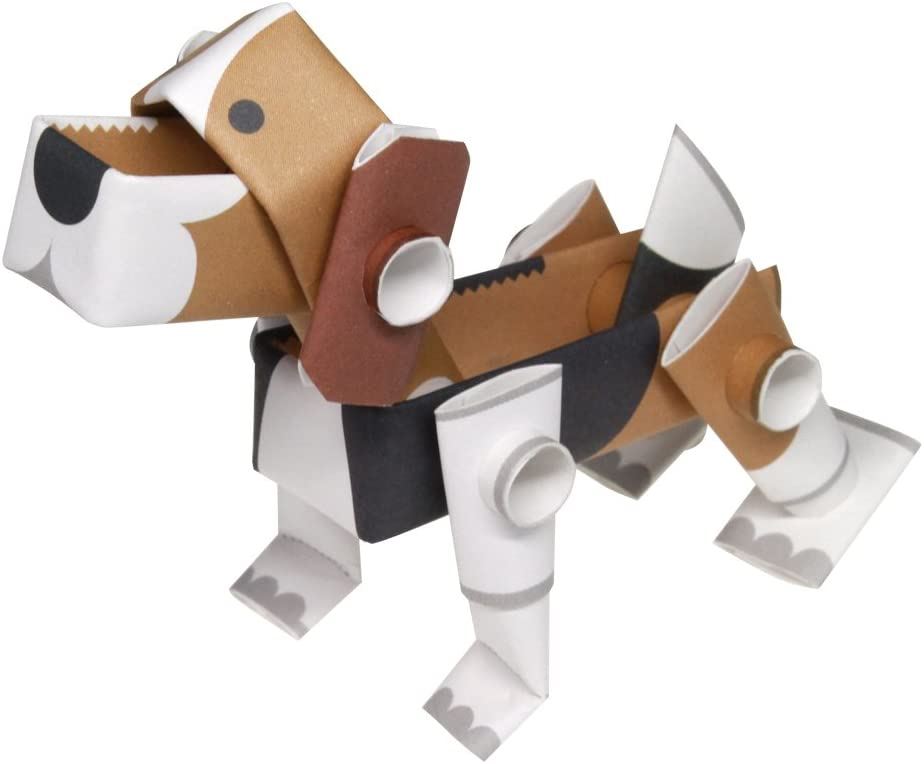 Children's Origami Paper Craft Kit - Dog - Ettiene Market