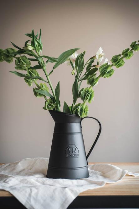 Vintage Wash Pitcher- Black