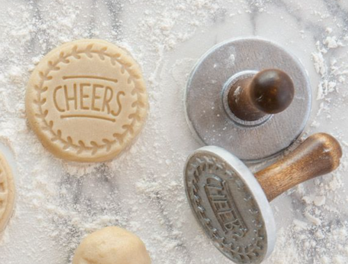 "Cookie Stamp - Cheers, 3"" - Ettiene Market"