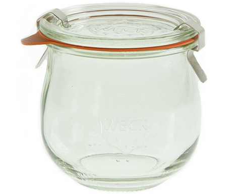 Children's Food Storage Jars - Set of 6