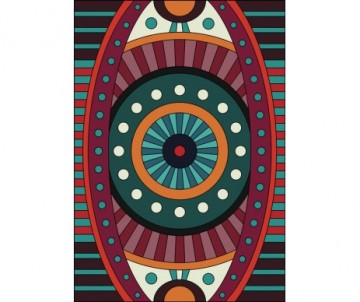 AA Story French Vinyl Mat- French Trends, Evil Eye 027529