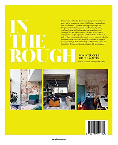 Book - In The Rough: Raw Interiors and Rugged Makers