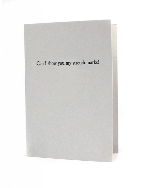 Oblation Press Card - Stretch Marks - Ettiene Market