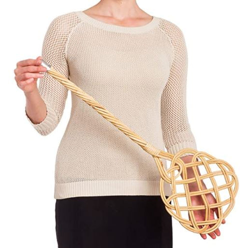 Rattan Vintage Style Carpet Beater