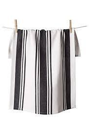 Center Stripe Towel- Dark Pewter - Ettiene Market