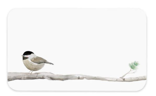 E. Frances Little Notecards - Chickadee