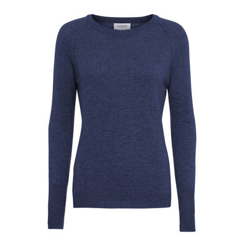 Faith Cashmere Sweater- Dark Blue