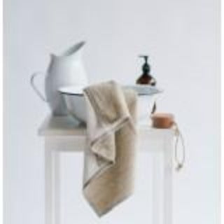 Natural Linen Bath Towel, Small