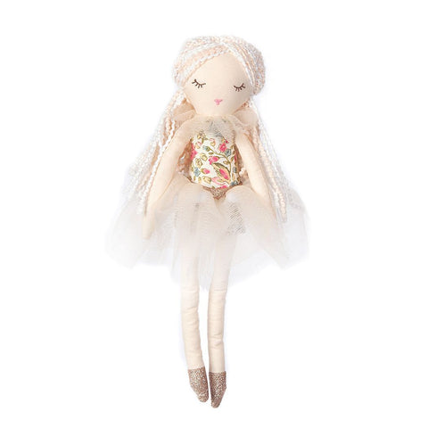 Tiny Bunny Heirloom Doll - Floral