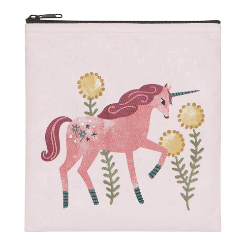 Reusable Sandwich Bag- Unicorn