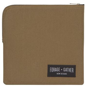 Reusable Forage and Gather Sandwich Bag - Green