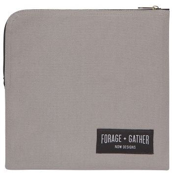 Reusable Forage and Gather Sandwich Bag - Grey